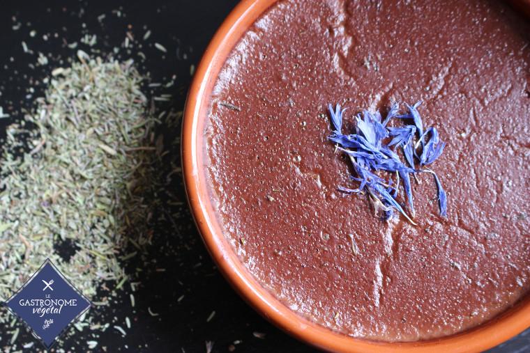 Crème chocolat thym 01
