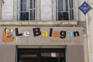 Lieu restaurant Le Balagan